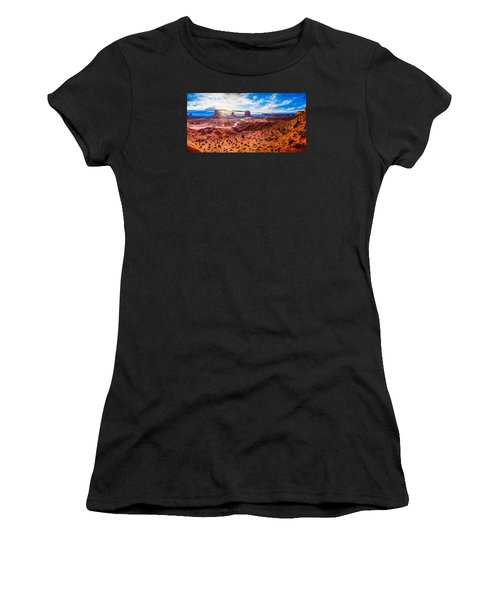 Oljato-monument Valley Women's T-Shirt (Athletic Fit)