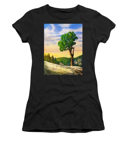 Olmsted Point Tree Women's T-Shirt