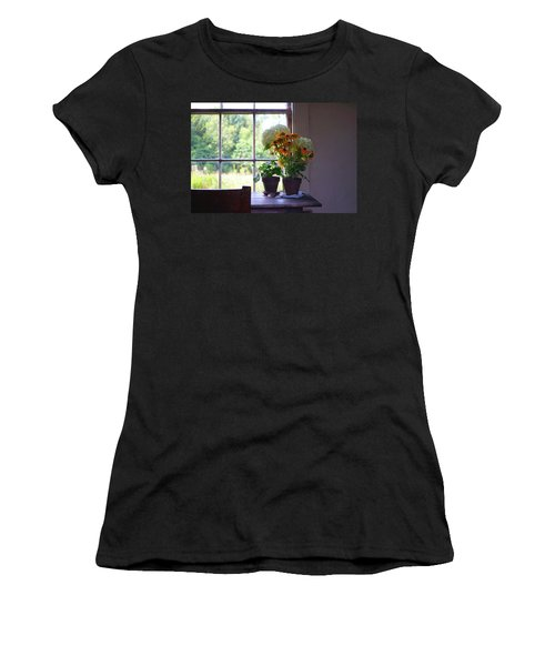 Olson House Flowers On Table Women's T-Shirt (Athletic Fit)