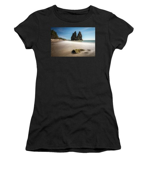 Women's T-Shirt featuring the photograph Olympic Shoreline by Pierre Leclerc Photography