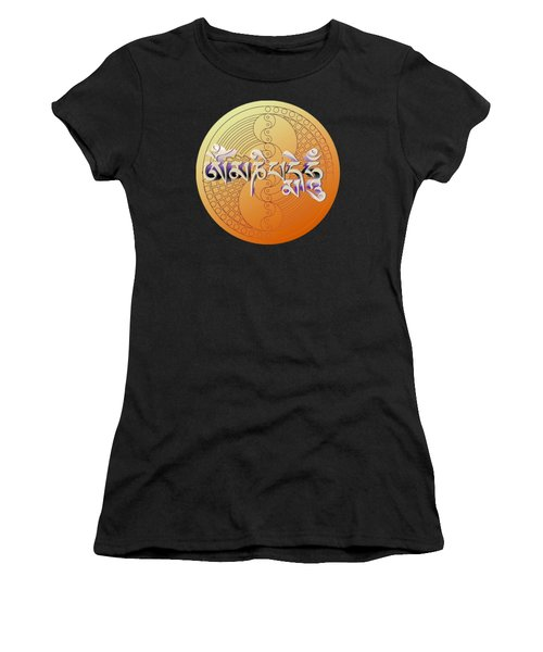 Om Mani Padme Hum Women's T-Shirt (Athletic Fit)