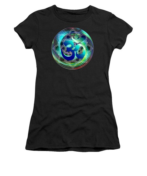 Om Vibration Ocean Women's T-Shirt