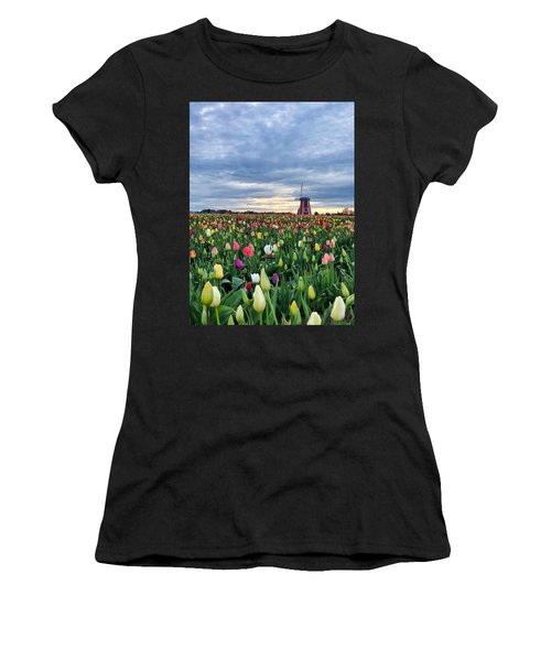 Ominous Spring Skies Women's T-Shirt (Athletic Fit)