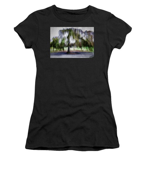 On A Rainy Day In Boston Women's T-Shirt