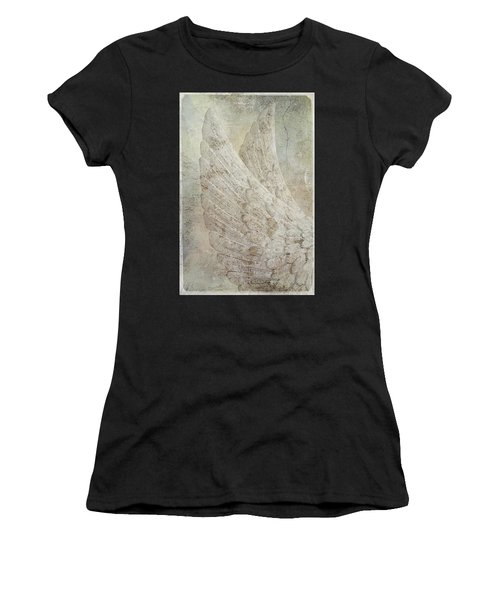 On Angels Wings 2 Women's T-Shirt