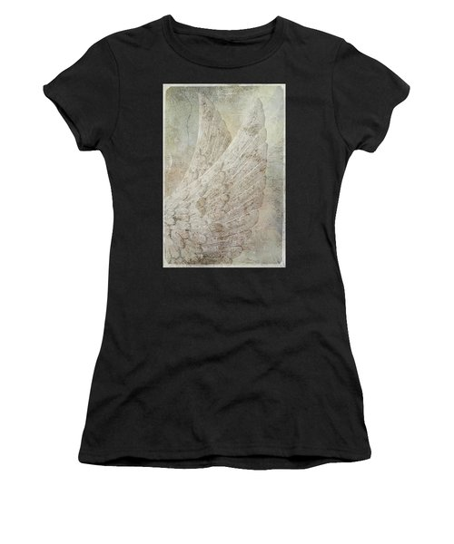 On Angels Wings Women's T-Shirt