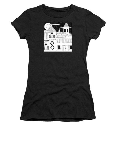 On Duty Women's T-Shirt (Junior Cut) by Lou Belcher