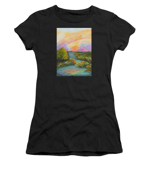 On My Way Women's T-Shirt (Athletic Fit)