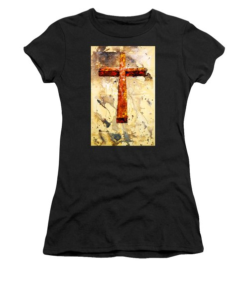 On That Old Rugged Cross Women's T-Shirt
