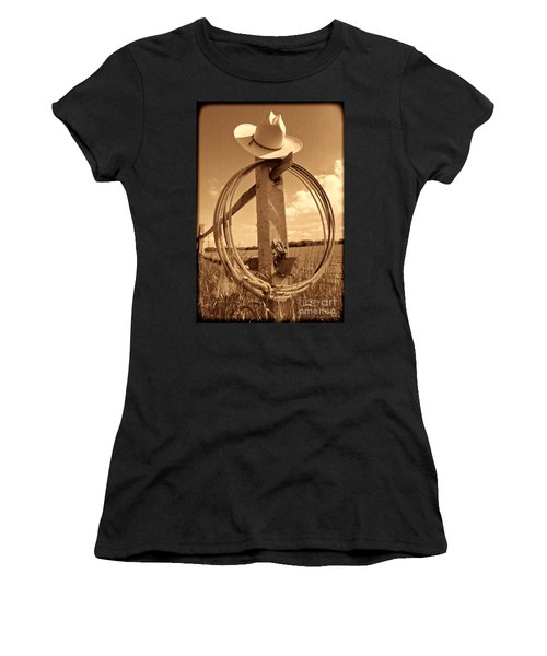 On The American Ranch Women's T-Shirt