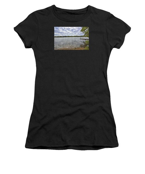 On The Banks Of The Potomac River Women's T-Shirt (Athletic Fit)