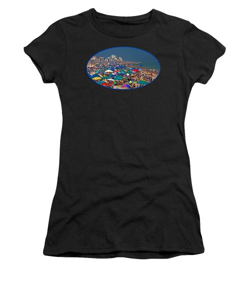 On The Beach In August Women's T-Shirt