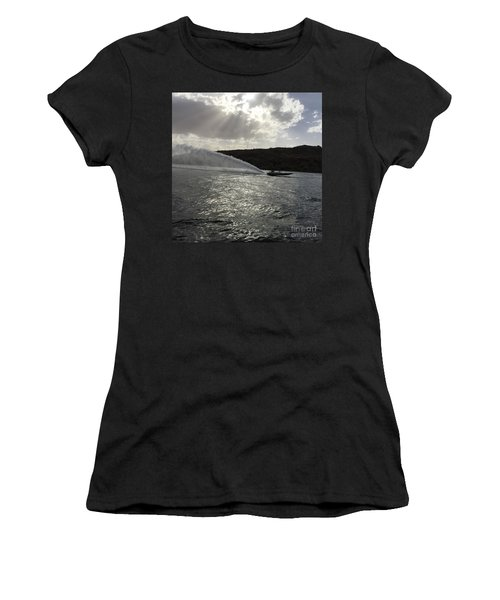 On The Lake Women's T-Shirt (Athletic Fit)
