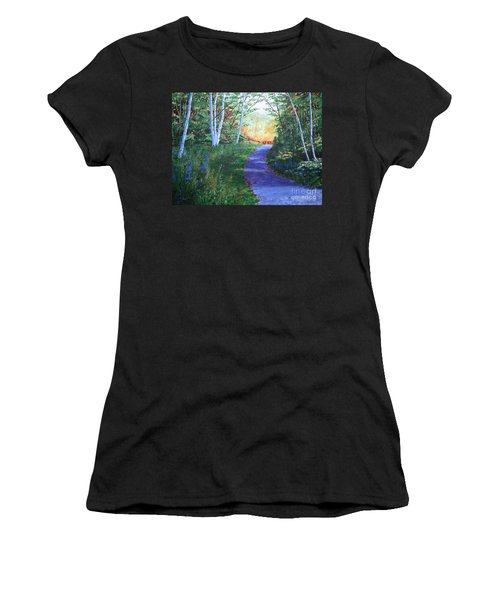 On The Path Women's T-Shirt