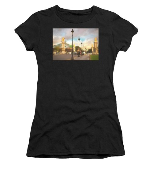 On The Pont Alexandre  Women's T-Shirt (Athletic Fit)