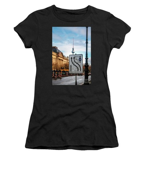 On The Road In Berlin Women's T-Shirt (Athletic Fit)