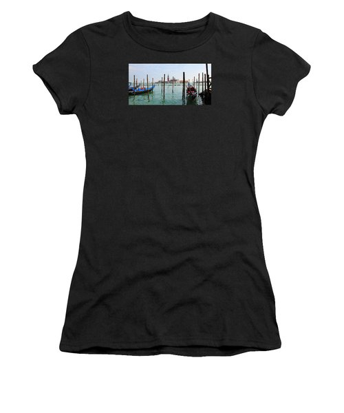 Women's T-Shirt featuring the digital art On The Waterfront by Julian Perry