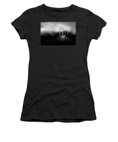 On Top Of The Hill Women's T-Shirt (Athletic Fit)
