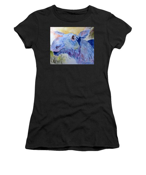 Once In A Blue Moose Women's T-Shirt (Athletic Fit)