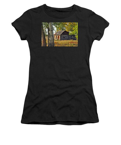 Women's T-Shirt (Junior Cut) featuring the photograph Once Upon A Time by Johanna Bruwer