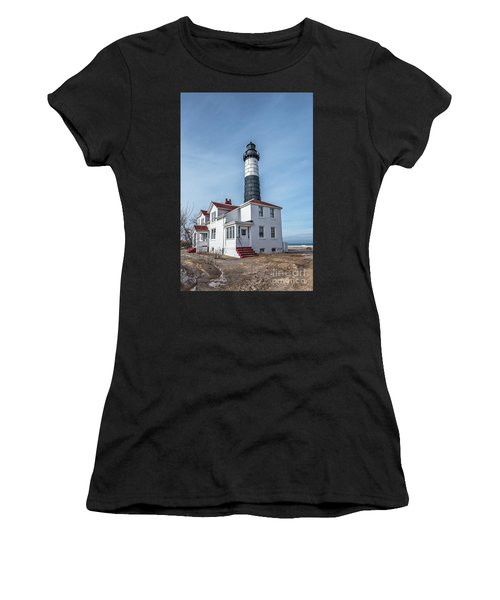 One Hundred Twelve Foot Lighthouse Tower Women's T-Shirt (Athletic Fit)