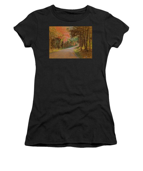 One More Country Road Women's T-Shirt (Athletic Fit)