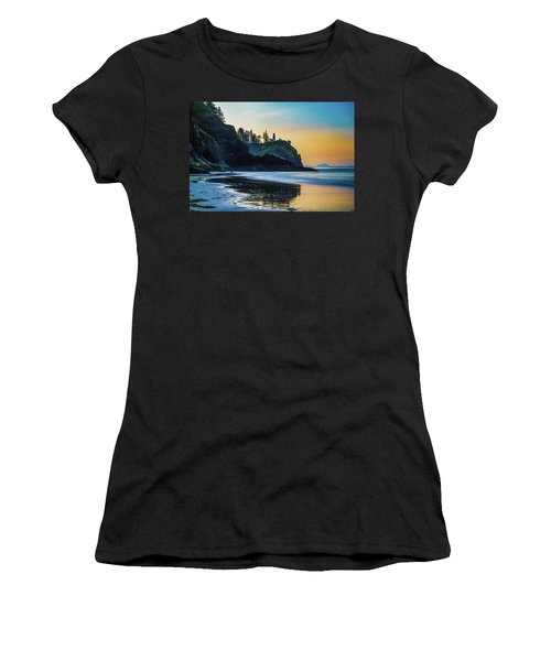 One Morning At The Beach Women's T-Shirt (Athletic Fit)