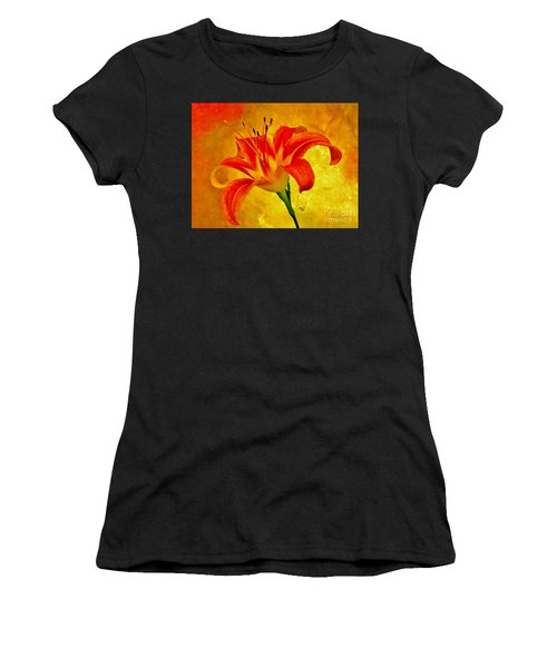One Tigerlily Women's T-Shirt (Athletic Fit)