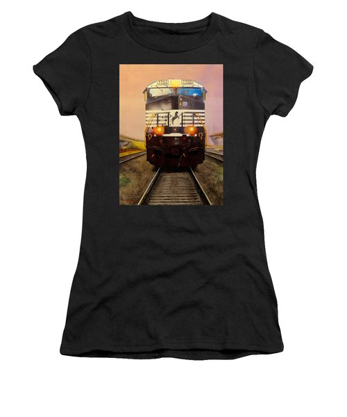 One Track Mind Women's T-Shirt (Athletic Fit)