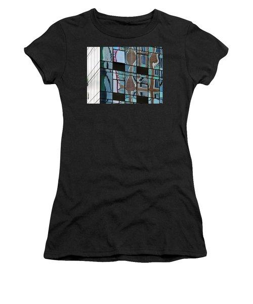 Op Art Windows I Women's T-Shirt (Athletic Fit)