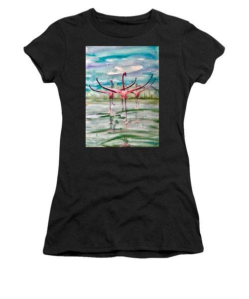 Open Horizon Women's T-Shirt (Athletic Fit)