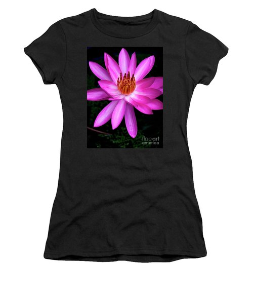 Opening - Early Morning Bloom Women's T-Shirt (Junior Cut) by Kerryn Madsen-Pietsch