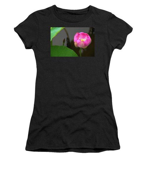 Opening Lotus Lily Women's T-Shirt