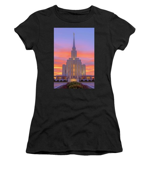 Oquirrh Mountain Temple IIi Women's T-Shirt