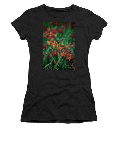 Orange Flowers 8 Women's T-Shirt