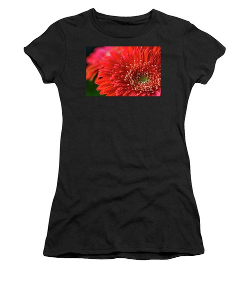 Women's T-Shirt featuring the photograph Orange Gerbera by Clare Bambers