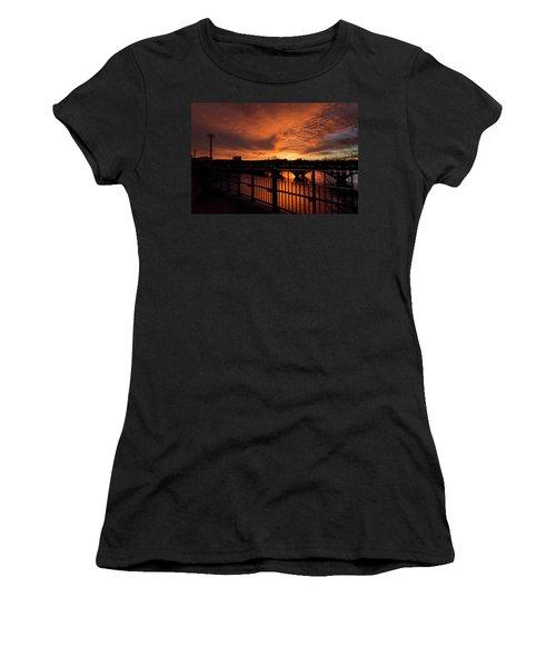 Orange Light Women's T-Shirt