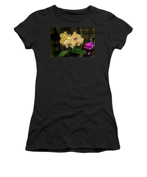 Orange Orchids Women's T-Shirt