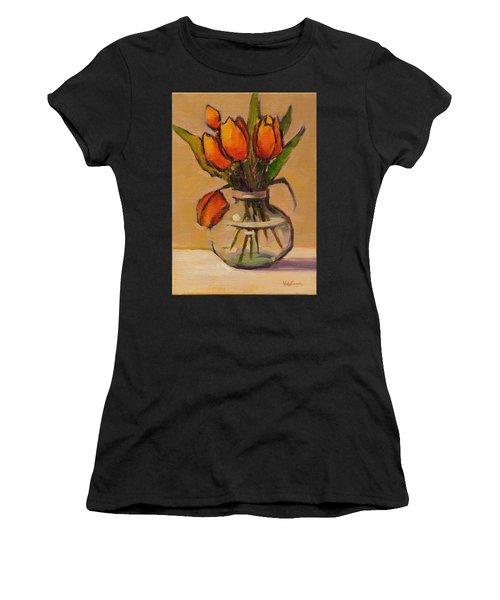 Orange Tulips Women's T-Shirt