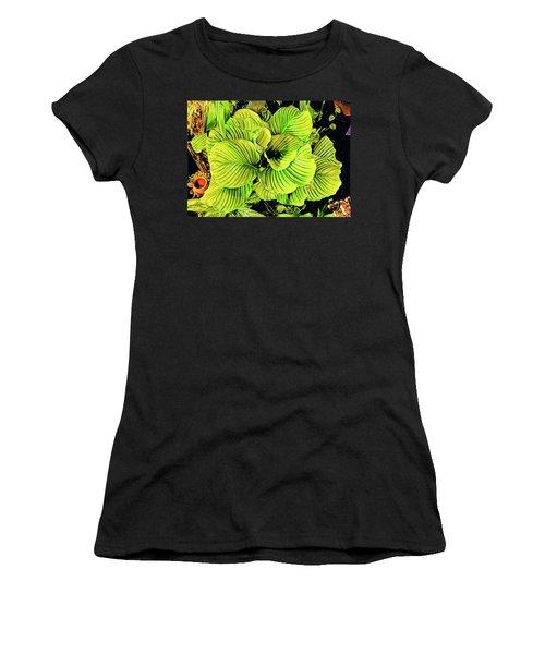 Orchid Green Fade Aloha  Women's T-Shirt