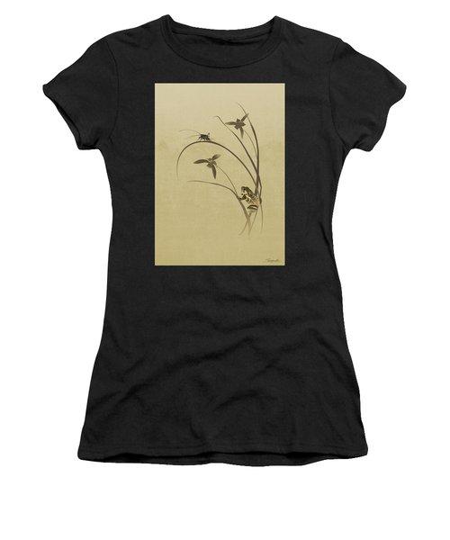 Orchid Sonata Women's T-Shirt (Athletic Fit)
