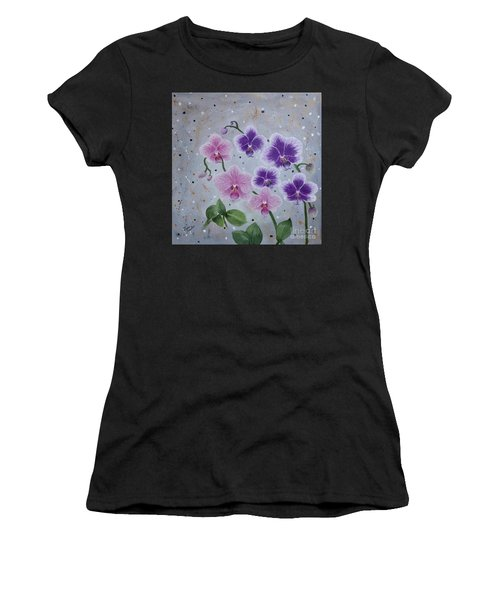 Orchids Galore Women's T-Shirt