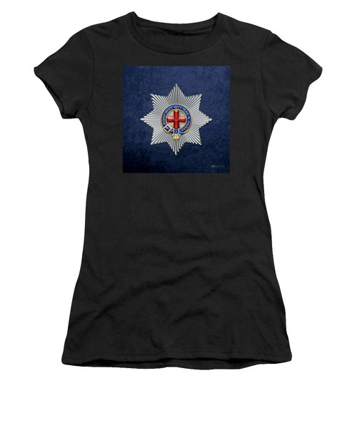 Order Of The Garter Star On Blue  Women's T-Shirt (Athletic Fit)