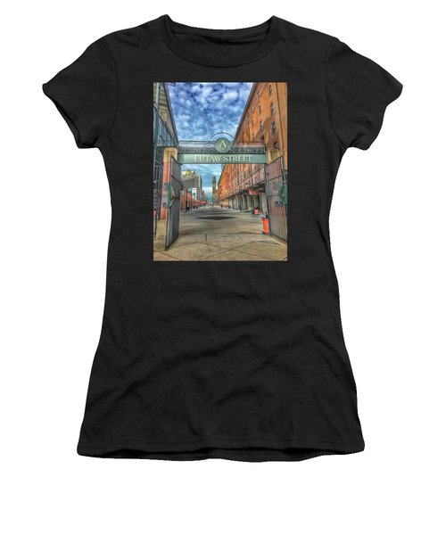 Oriole Park At Camden Yards - Eutaw Street Gate Women's T-Shirt