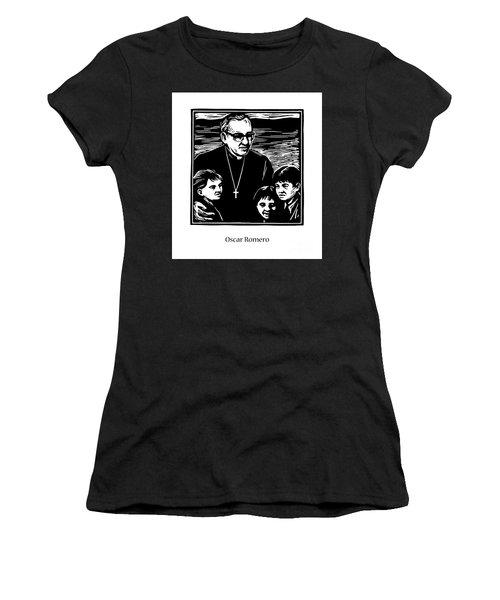 St. Oscar Romero - Jlosc Women's T-Shirt