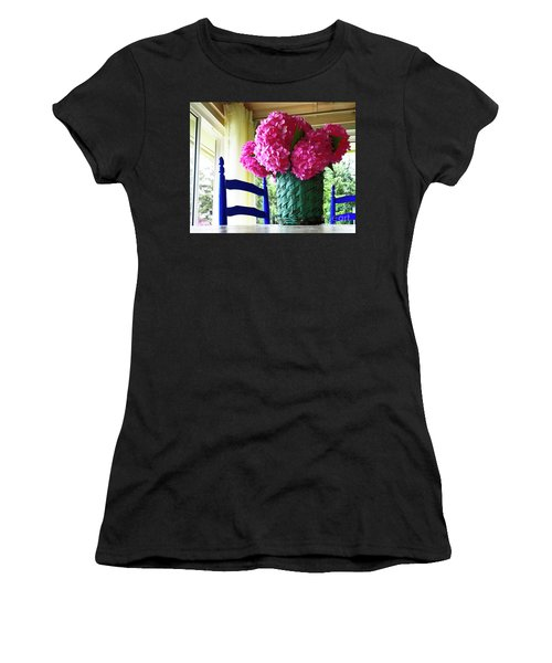 Women's T-Shirt featuring the photograph Otisco Morning by Rick Locke