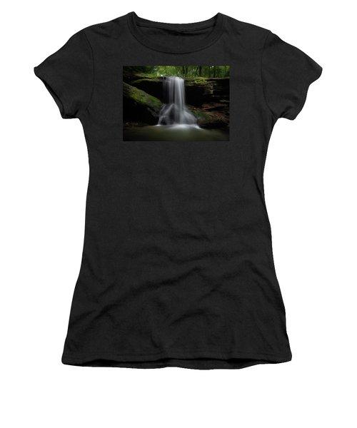 Otter Falls - Seven Devils, North Carolina Women's T-Shirt