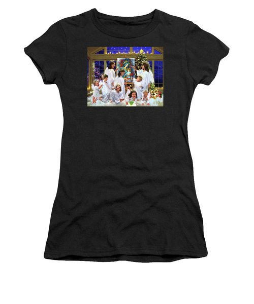 Our 2017 Christmas Angels Women's T-Shirt (Athletic Fit)