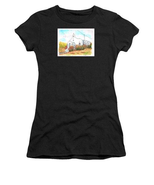 Our Lady Of Mount Carmel Catholic Church, Carmel,california Women's T-Shirt (Athletic Fit)