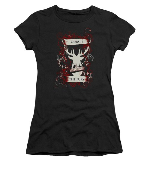 Ours Is The Fury Women's T-Shirt (Athletic Fit)